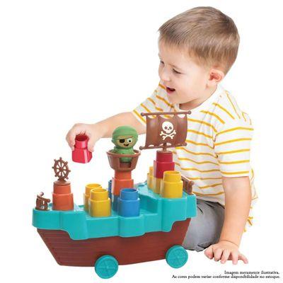 veiculo-roda-livre-barco-pirata-com-blocos-de-montar-13-pecas-elka-1045_Frente