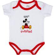 Body-Manga-Curta---100--Algodao---Disney---Mickey-Mouse-Natal---Disney---RN_Frente