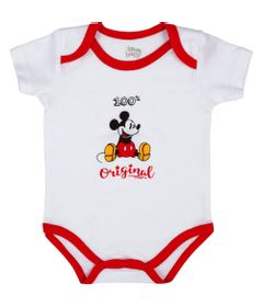 Body-Manga-Curta---100--Algodao---Disney---Mickey-Mouse-Natal---Disney---RN_Frente