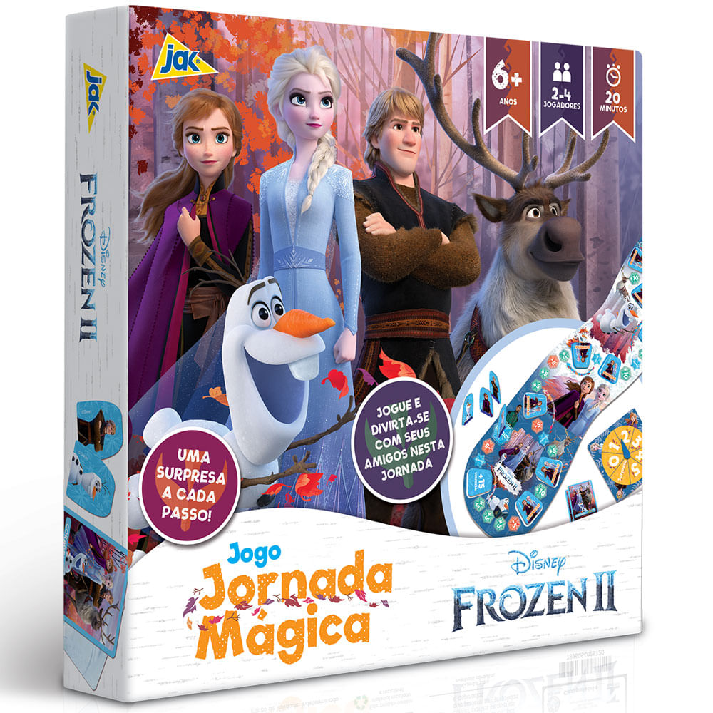 Jogo de Tabuleiro - Disney - Frozen II - Jornada Mágica - Toyster