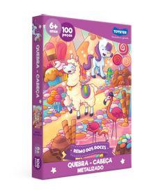 Quebra-Cabeca---100-Pecas---Reino-de-Doces---Toyster