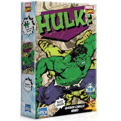 Quebra-Cabeca-Nano---500-Pecas---Disney---Marvel-Comics---Hulk---Toyster