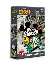 Quebra-Cabeca-Nano---500-Pecas---Disney---Mickey-e-Minnie-na-Moto---Toyster