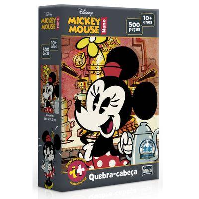 Quebra-Cabeca-Nano---500-Pecas---Disney---Minnie-Mouse---Toyster