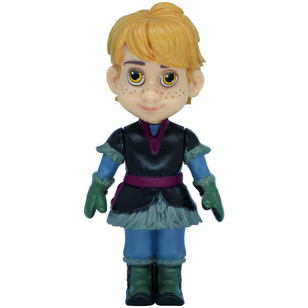 Mini Boneca Articulada - 8 Cm - Disney - Frozen - Kristoff - Mimo