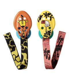 Prendedor-de-Chupeta---Tommee-Tippee---Multicolor---Multikids---Girafa-e-Passaro