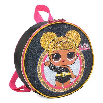 lancheira-infantil-23-cm-lol-surprise-queen-bee-preto-luxcel-LA34624-LO-0600UN_Frente