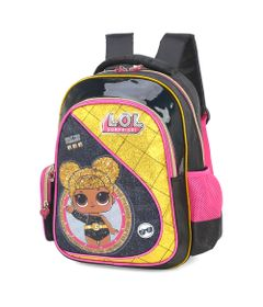 mochila-infantil-35-cm-lol-surprise-queen-bee-preto-luxcel-IS34623-LO-0600UN_Frente