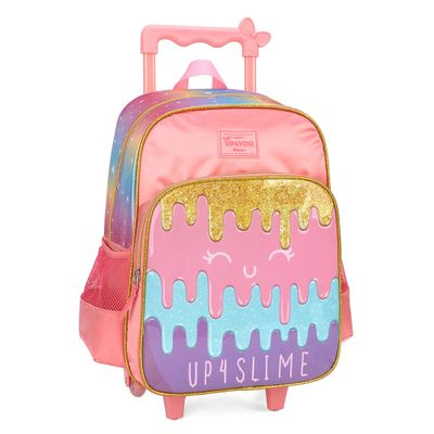 mochila-com-rodinhas-40-cm-up4you-slime-rosa-luxcel-IC34242-UP-0310UN_Frente