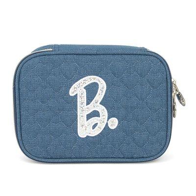 estojo-escolar-barbie-100-pens-azul-luxcel-ET40471-BB-0200UN_Frente