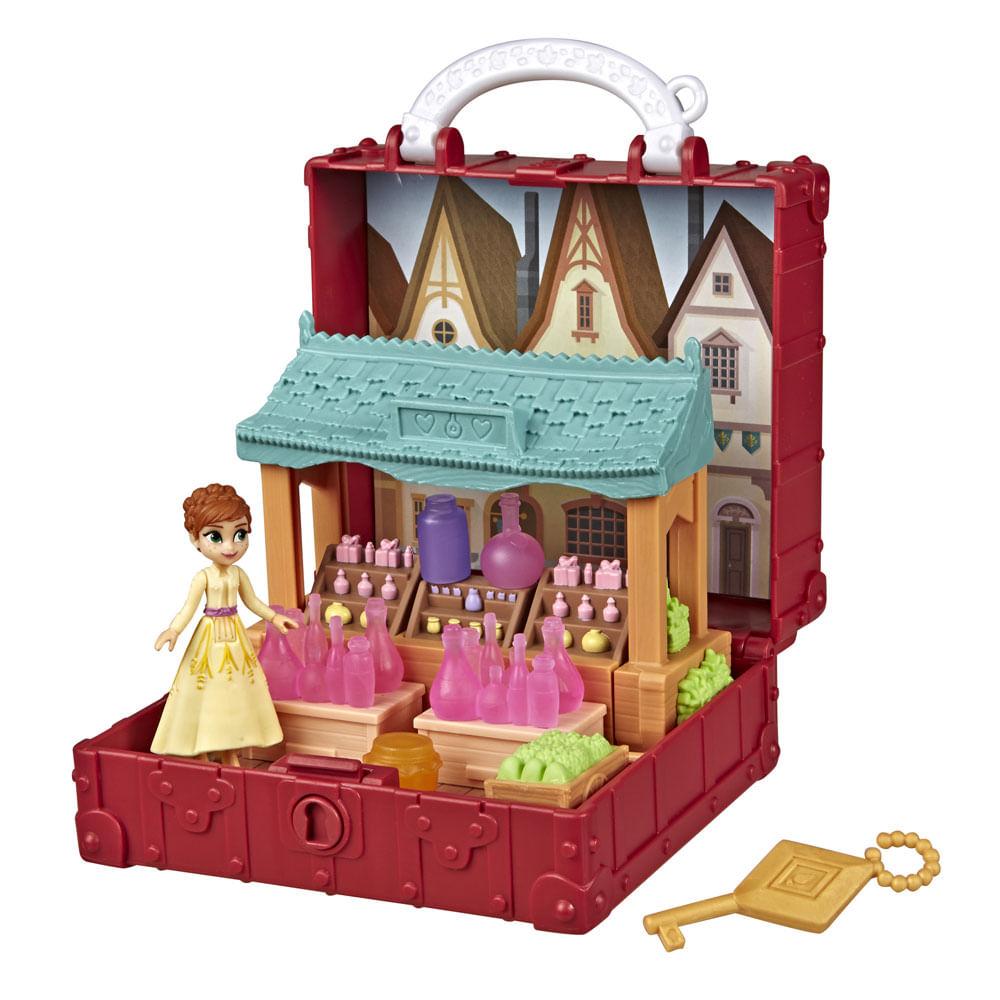 Playset - Disney - Frozen 2 - Anna na Aldeia - Pop Aventuras - Hasbro