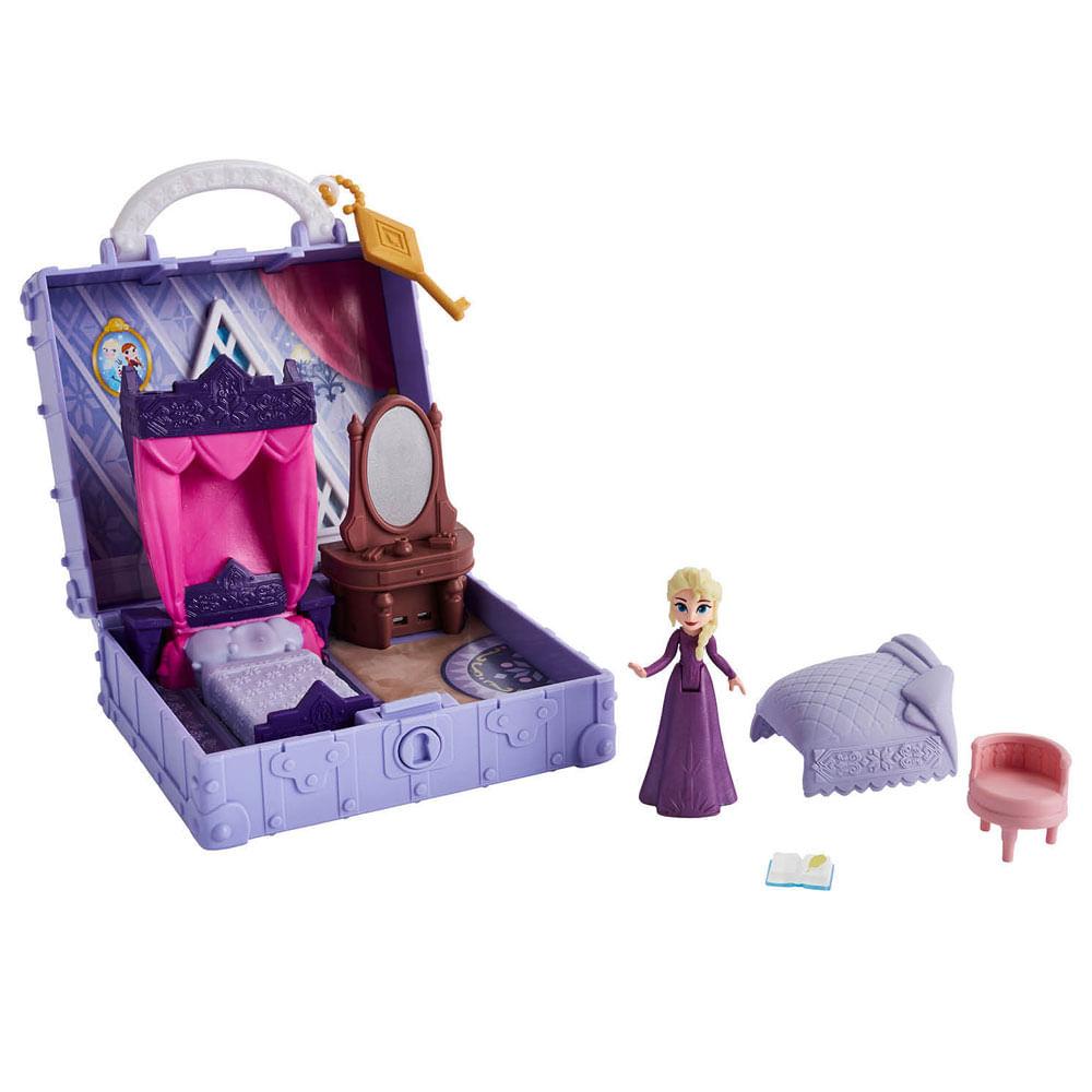 Playset - Disney - Frozen 2 - Quarto da Elsa - Pop Aventuras - Hasbro