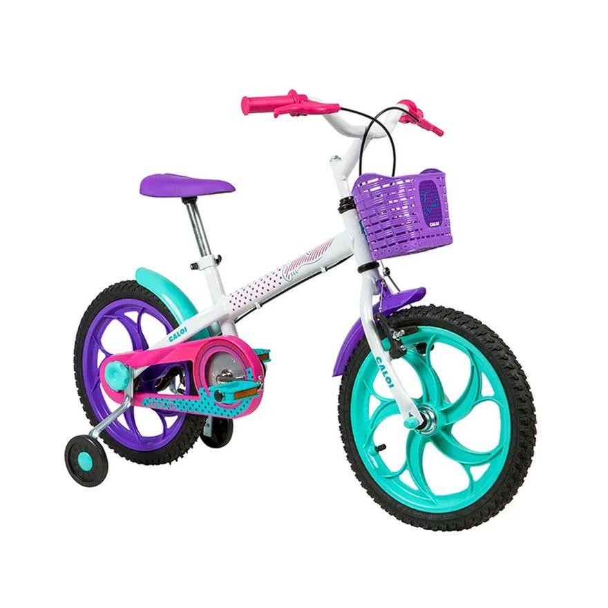 Bicicleta-Infantil---Aro-16---Cecizinha---Branco---Caloi-2