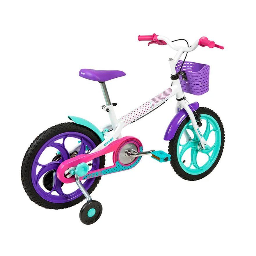Bicicleta-Infantil---Aro-16---Cecizinha---Branco---Caloi-5
