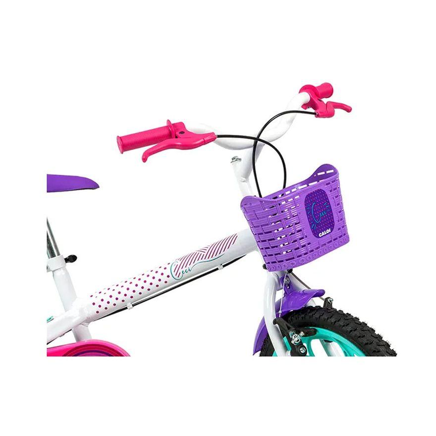 Bicicleta-Infantil---Aro-16---Cecizinha---Branco---Caloi-3