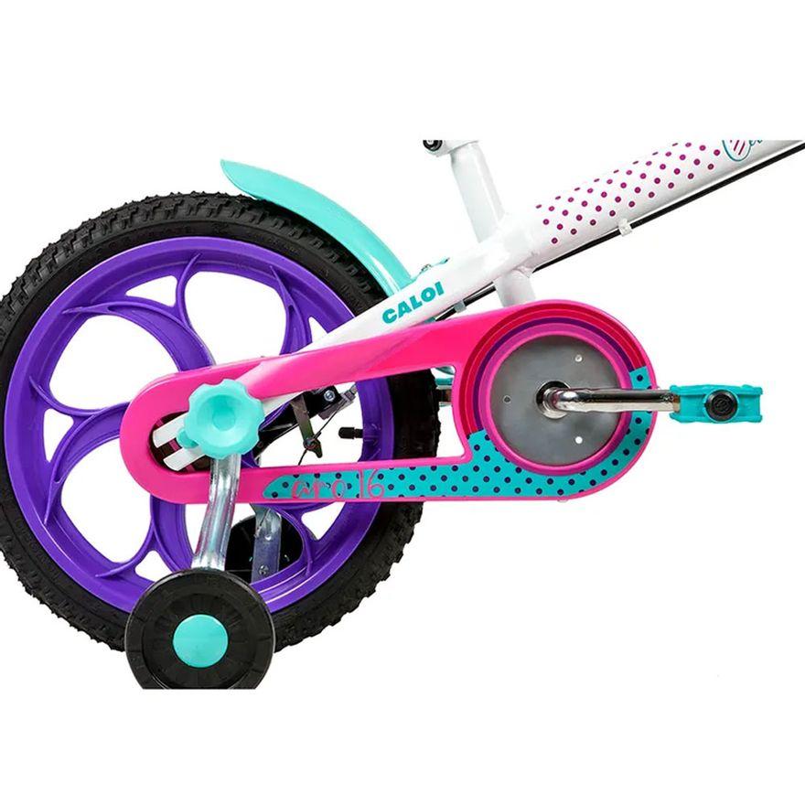 Bicicleta-Infantil---Aro-16---Cecizinha---Branco---Caloi-4