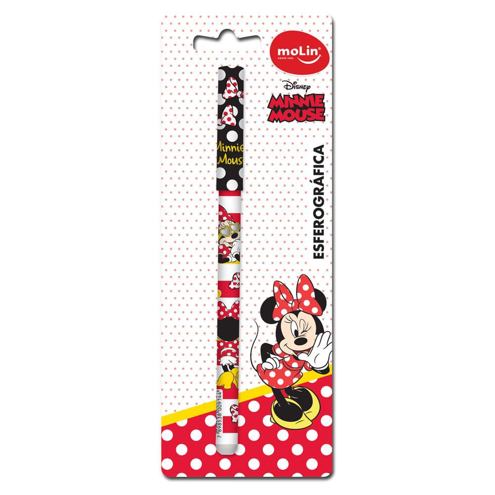 Caneta Esferográfica - Disney - Minnie Mouse - Molin