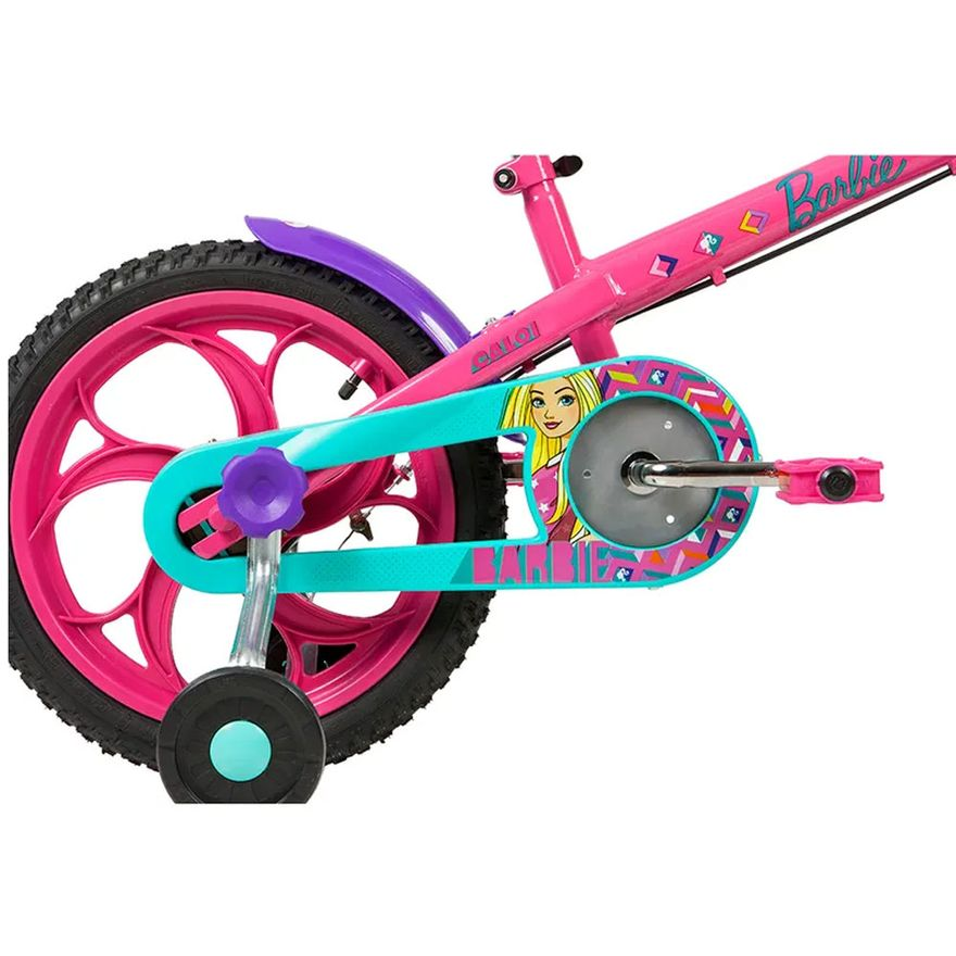 4-Bicicleta-Aro-16---Disney---Barbie---Rosa---Caloi