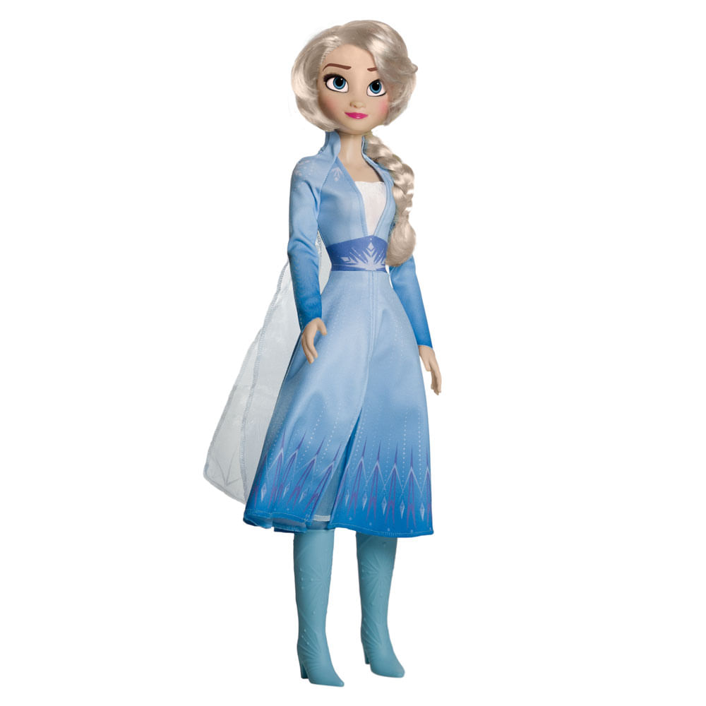 Boneca Articulada - 82 Cm - My Size - Disney - Frozen 2 - Elsa - Novabrink