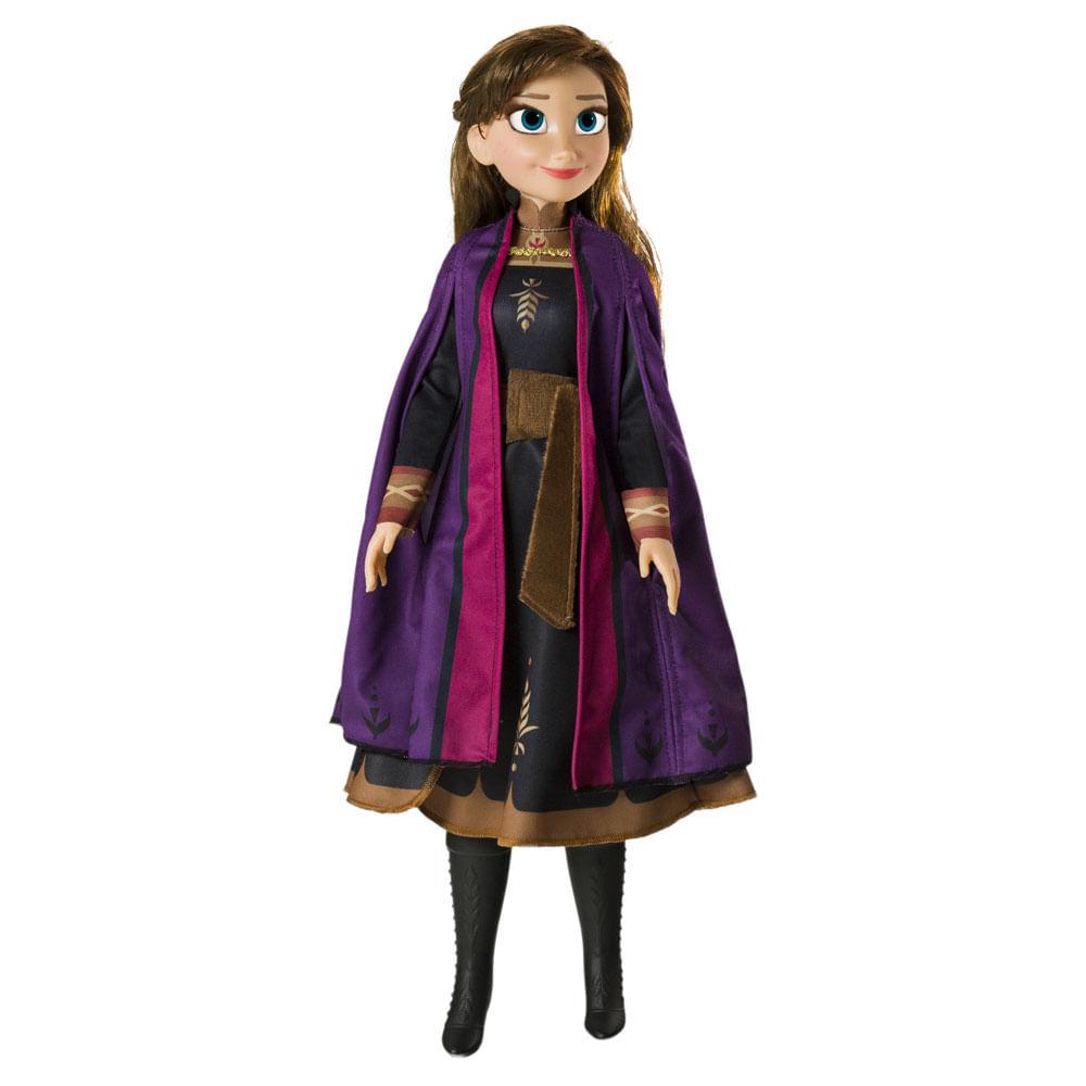 Boneca Articulada - 82 Cm - My Size - Disney - Frozen 2 - Anna - Novabrink