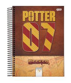 caderno-universitario-espiralado-capa-dura-12-materias-harry-potter-240-folhas-jandaia-63601-20_frente