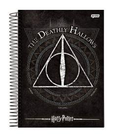 caderno-universitario-espiralado-capa-dura-15-materias-harry-potter-300-folhas-jandaia-63602-20_frente