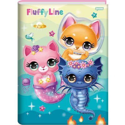 caderno-1-4-caligrafia-fluffy-96-folhas-jandaia-65160-77_frente