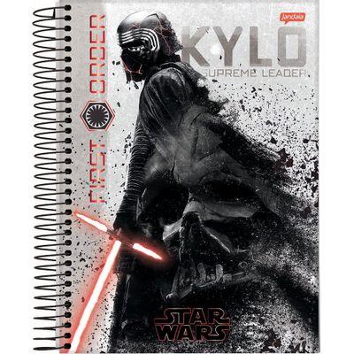 caderno-universitario-espiralado-10-materia-star-wars-160-folhas-jandaia-66690-20_frente