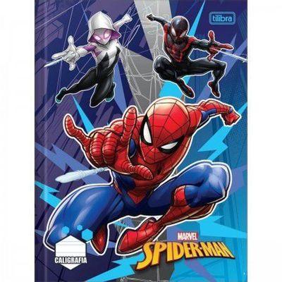 caderno-de-brochura-caligrafia-disney-marvel---spider-man-aranhaverso-tilibra_frente