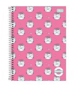 caderno-de-espiral-capa-dura-colegial-pepper-rosa-gatinhos-tilibra_frente