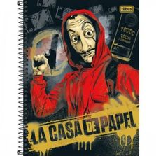caderno-de-espiral-capa-dura-colegial-la-casa-de-papel-10-materias-100--puregold-tilibra_frente