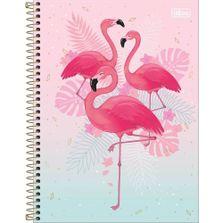caderno-de-espiral-capa-dura-colegia-trio-de-flamingos-tilibra_frente