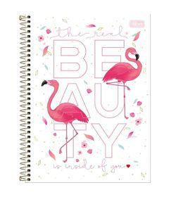 caderno-de-espiral-capa-dura-colegial-aloha-flamingos-beauty-tilibra_frente
