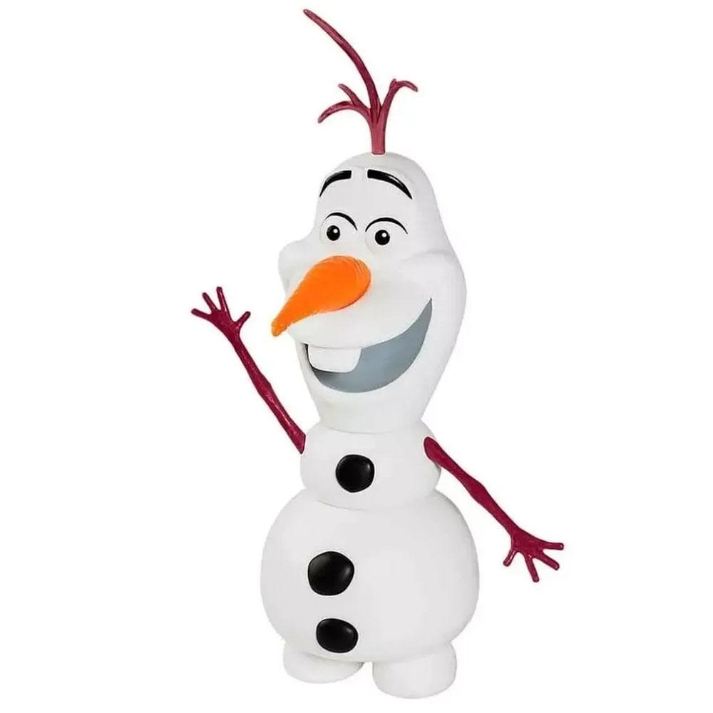 Boneco de Vinil - 25 Cm - Frozen 2 - Olaf - Líder