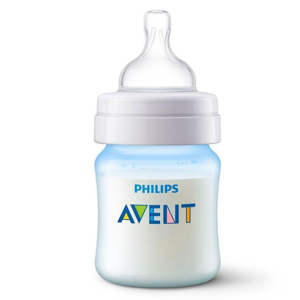 Mamadeira - Clássica Azul - Anti Cólica - 125 ml - Philips Avent