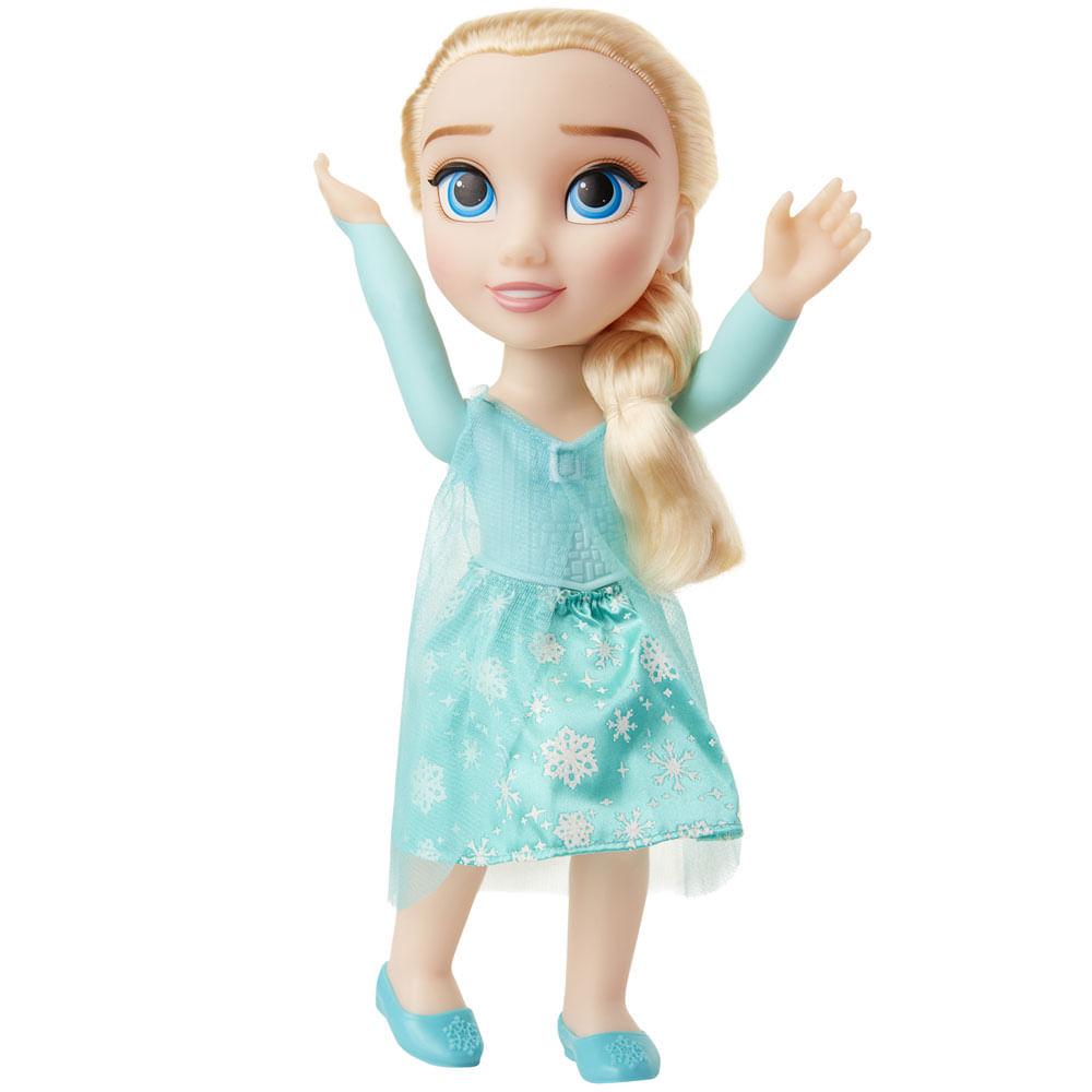 Boneca Articulada - 37 Cm - Disney - Frozen - Elsa - Mimo