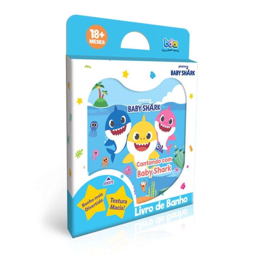 Livro De Banho - Baby Shark - Cantado - Toyster