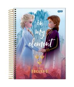 caderno-universitario-espiralado-1-materia-frozen-2-anna-e-elsa-in-my-element-80-folhas-jandaia-66685-20_Frente