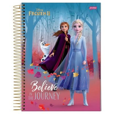 caderno-universitario-espiralado-1-materia-frozen-anna-e-elsa-believe-in-the-journey-80-folhas-jandaia-66685-20_Frente