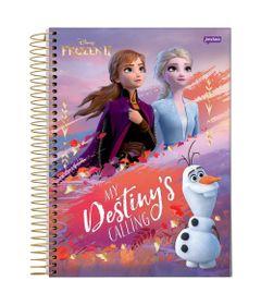 caderno-universitario-espiralado-10-materias-frozen-2-anna-e-elsa-my-destiny-s-calling-160-folhas-jandaia-66686-20_Frente