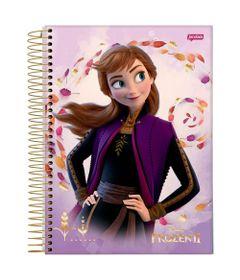 caderno-universitario-espiralado-10-materias-frozen-2-anna-160-folhas-jandaia-66686-20_Frente