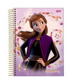 caderno-universitario-espiralado-capa-dura-15-materias-frozen-2-anna-300-folhas--jandaia-58592-20_Frente