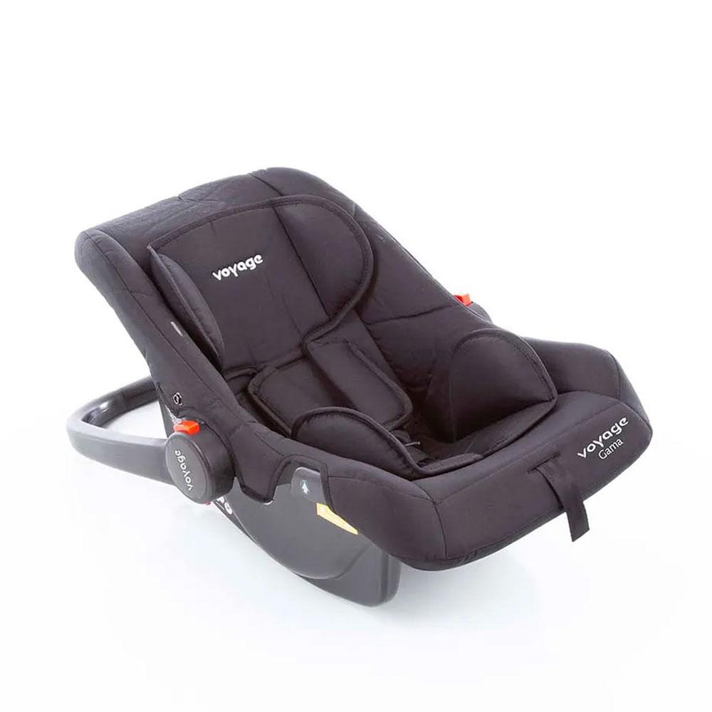 Bebê Conforto - De 0 a 13 Kg - Gama - Preto - Voyage