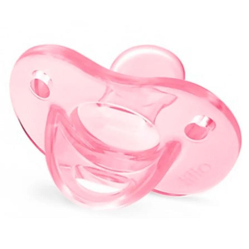 Chupeta Soft Calming - Rosa - Meninas - Tam 1 - Lillo
