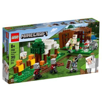 lego-minecraft-pillager-outpost-21159_Frente