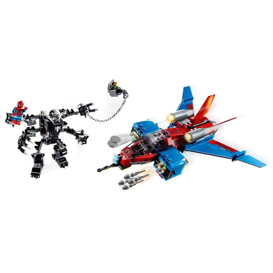lego-super-heroes-disney-marvel-homem-aranha-spiderjet-vs-robo-venom-76150_Detalhe1