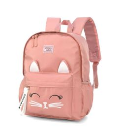 mochila-escolar-48-cm-up4you-gatinho-rosa-luxcel-MS45733-UP-0600UN_Frente