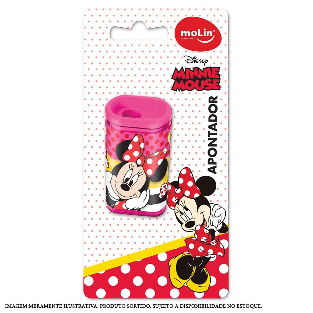 Apontador com Depósito - Sortido - Disney - Minnie Mouse - Molin
