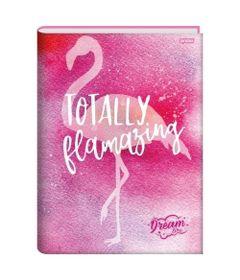 caderno-brochura-capa-dura-1-4-dream-flamingo-96-folhas-jandaia-66649-77_Frente--2-