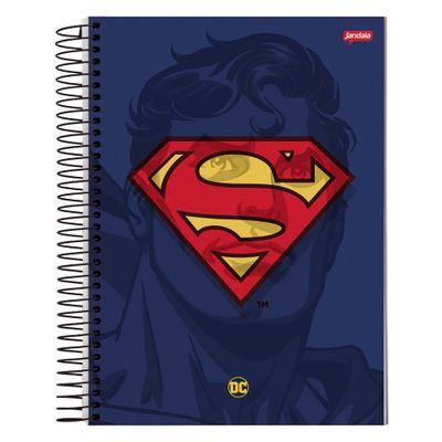caderno-universitario-espiralado-capa-dura-1-materia-dc-comics-super-homem-96-folhas-jandaia-59240-20_Frente